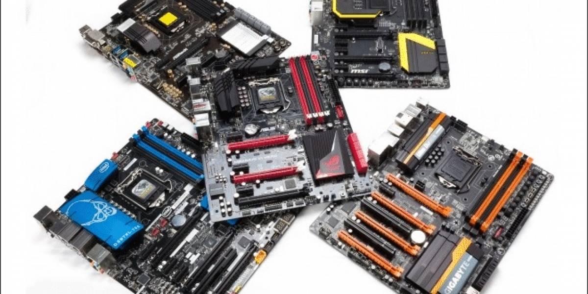 37 tarjetas madre socket LGA 1150 probadas
