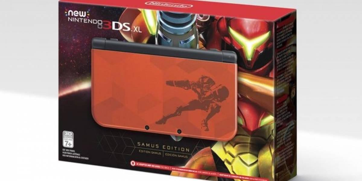Nintendo anuncia un New 3DS XL edición especial de Metroid