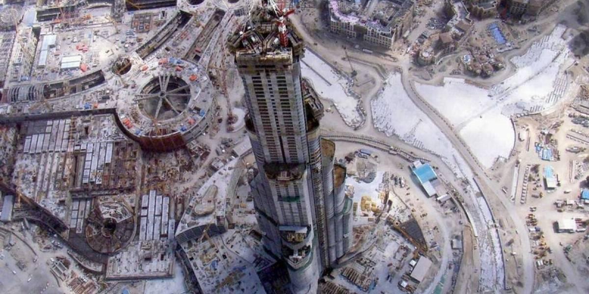 Vista desde lo alto: Burj Dubai