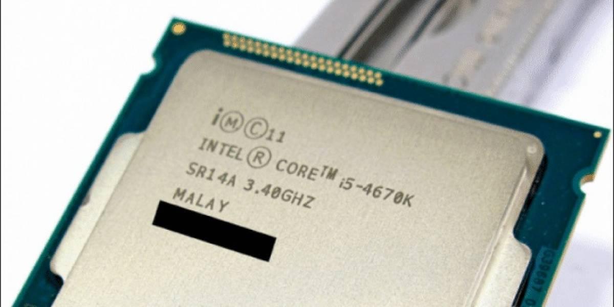 Core i5-4670K vs Core i5-3570K vs Core i5-2500K