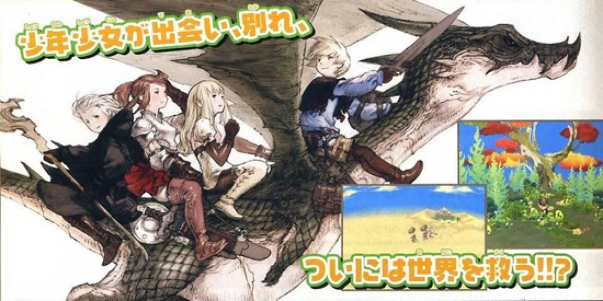 Terminó el misterio, el juego de Square Enix es Final Fantasy Gaiden
