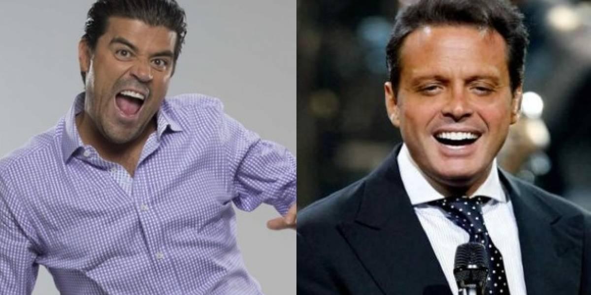 Luis Miguel y el 'Burro' Van Ranking se reencuentran