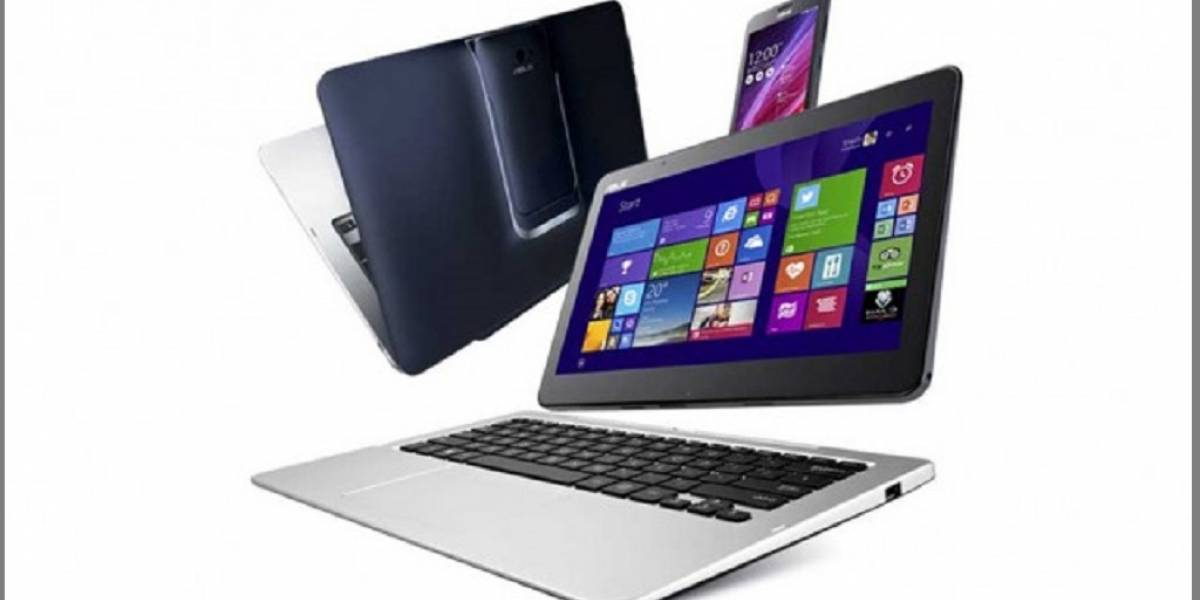 Asus presenta Transformer Book V: Computador 5-en-1 Android/Windows