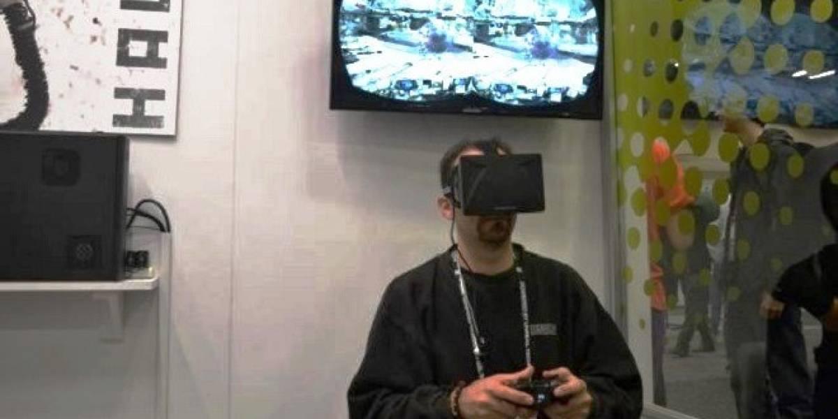 Oculus Rift, el casco de realidad virtual. Prototipo testeado en el GDC