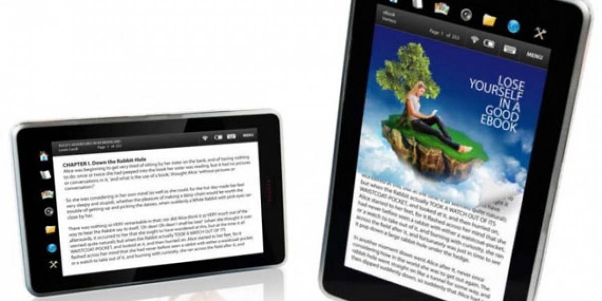 Elonex 710EB, un nuevo e-reader para Inglaterra
