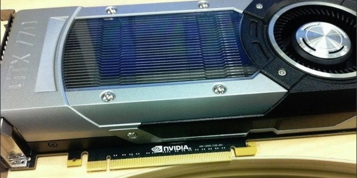 Se filtran los benchmarks del GPU GeForce GTX 770 realizados por Nvidia