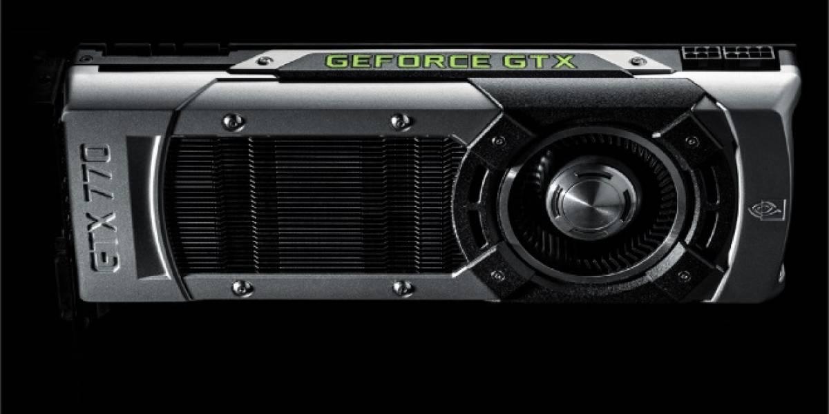 """NVIDIA rebaja el precio de sus tarjetas gráficas GeForce GTX 770 """"GK104"""""""