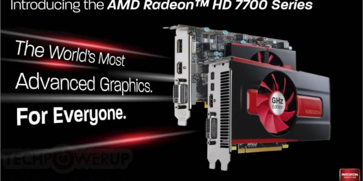 AMD Radeon HD 7770 y Radeon HD 7750 son lanzadas oficialmente