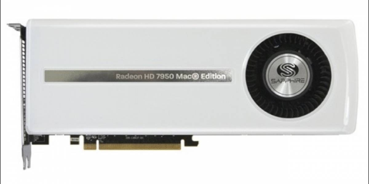 Sapphire lanza su tarjeta de video Radeon HD 7950 Mac Edition