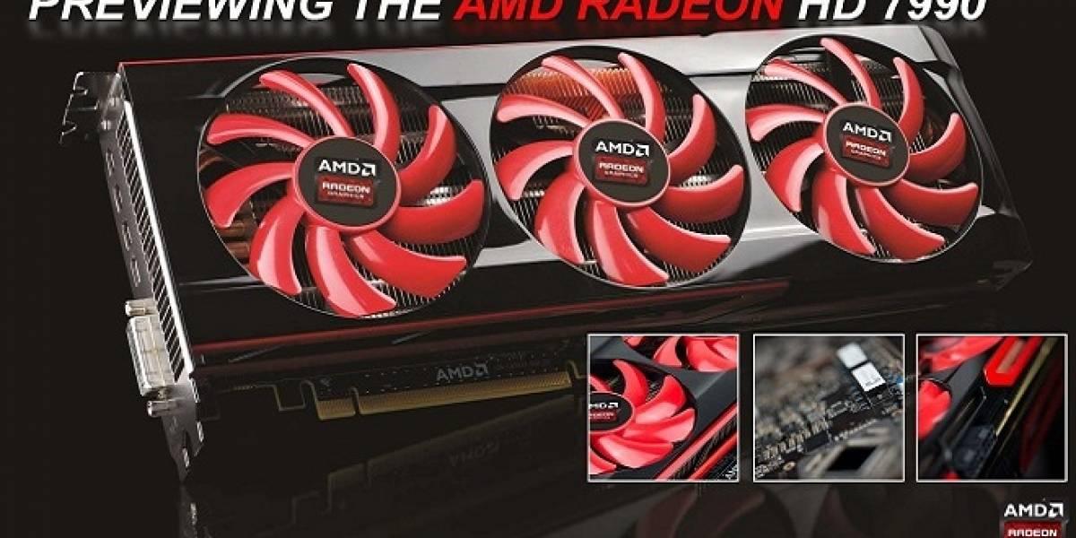 Confirmado: AMD Radeon HD 7990 llega el 24 de abril