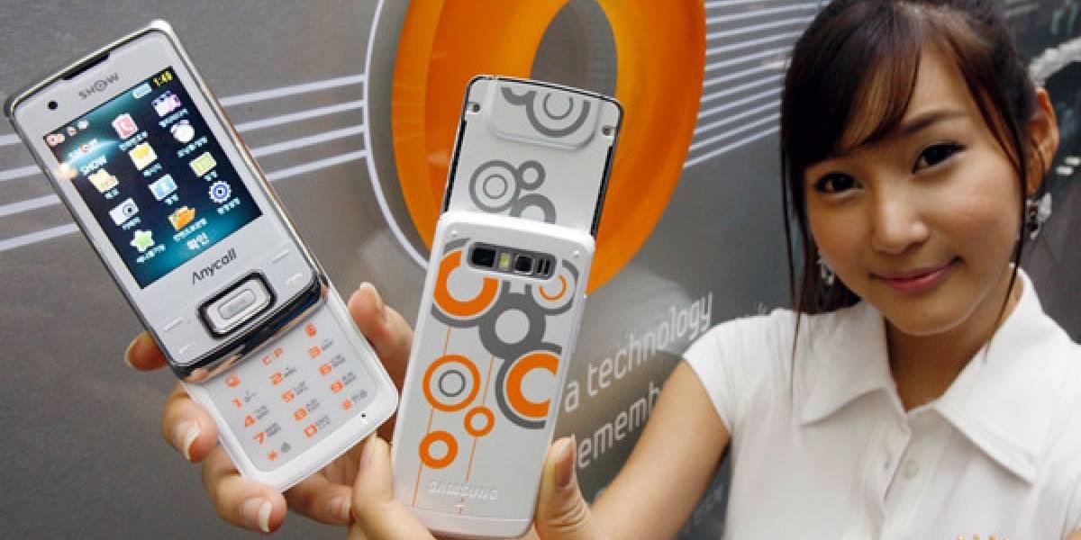 Samsung y su nuevo Honey Bubble SPH-W8700