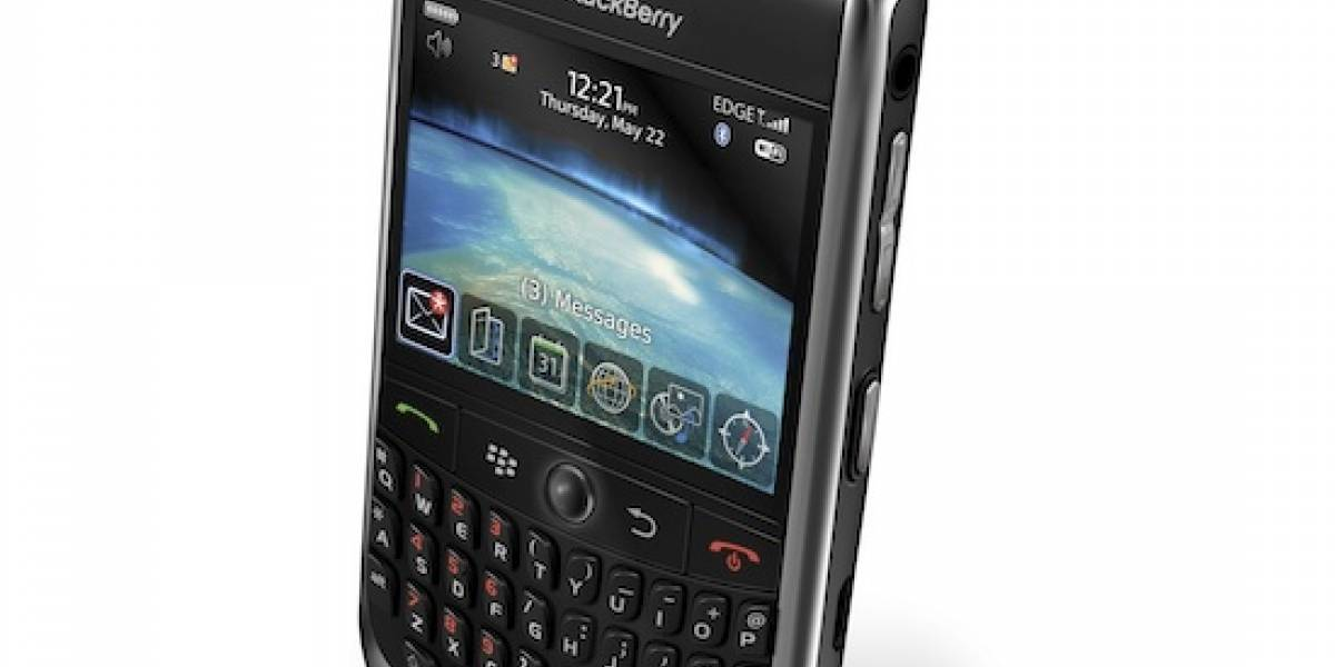 BlackBerry Curve 8900 en México con Telcel
