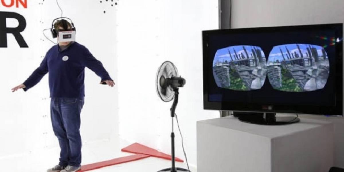 Oculus Rift + Kinect: Simular la sensación de vértigo en altura