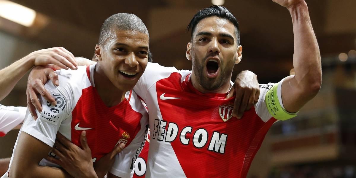 Falcao García, dos goles en su regreso al arco en la Copa de la Liga de Francia