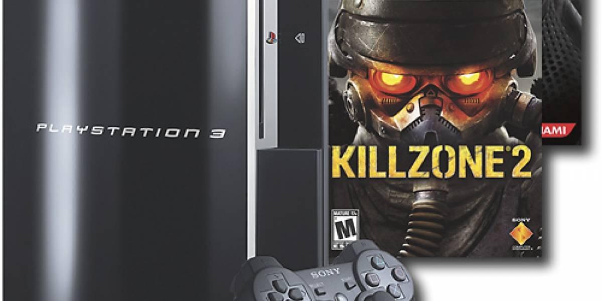 PlayStation 3 ahora con Killzone 2 y Metal Gear Solid 4