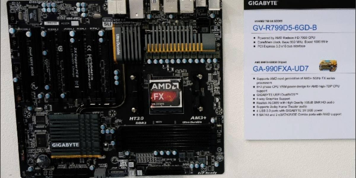Gigabyte revela CPUs AMD FX-Series de tercera generación #CTX2013