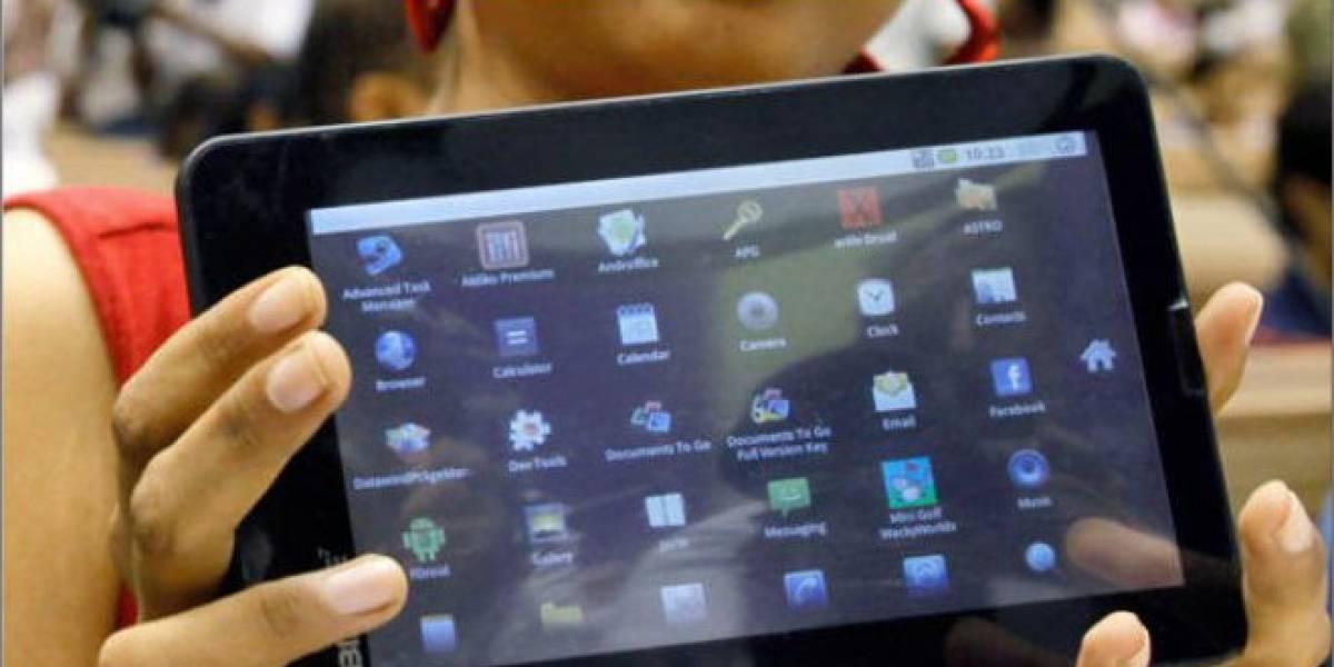 Gobierno de la India anuncia su tablet Aakash 2