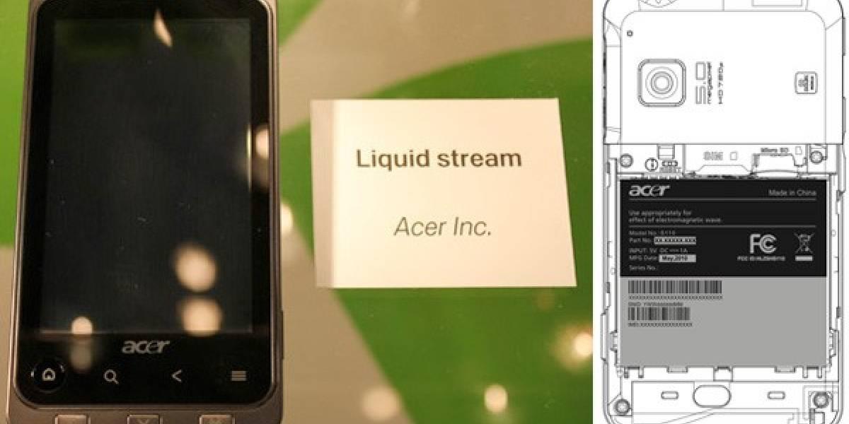 Acer Liquid Stream se deja ver
