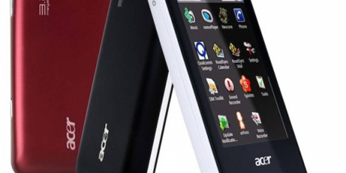 MWC10: Acer presentó el neoTouch P300, neoTouch P400, beTouch E110 y beTouch E400