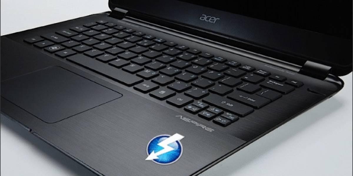Acer le dice adiós a Thunderbolt