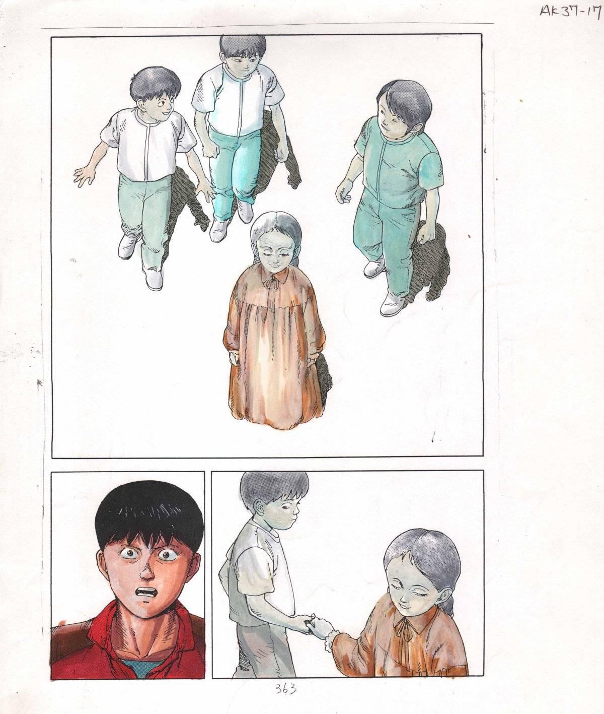 Akira - guia de cor para a edição dos EUA. Cores de Steve Oliff sobre arte de Katsuhiro Otomo (WEB)