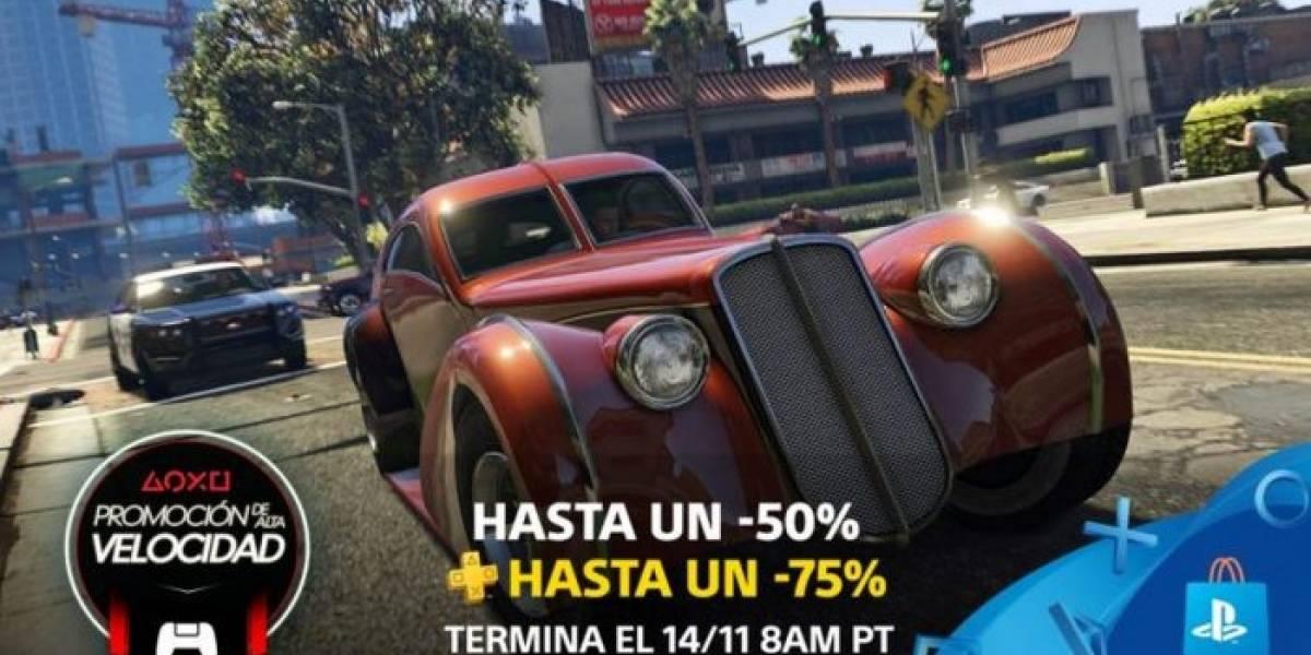 PlayStation Store presenta la Promoción de Alta Velocidad exclusiva para LATAM