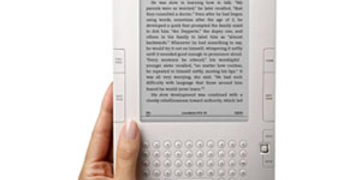Amazon también rebaja el precio del Kindle 2