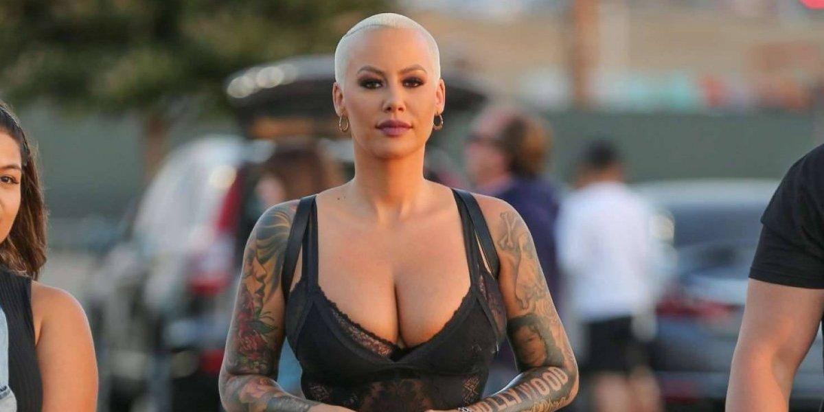 FOTOS. Amber Rose se operó para reducir el tamaño de sus senos y muestra cómo quedó