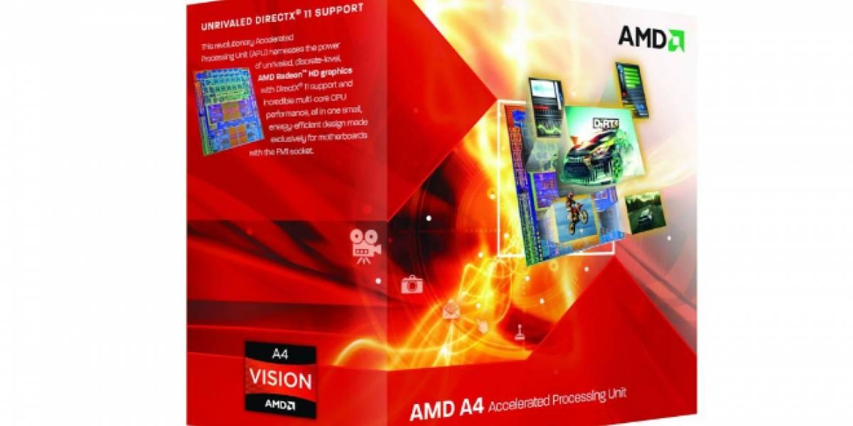 AMD pondrá a la venta la APU A4-3420 a USD$65