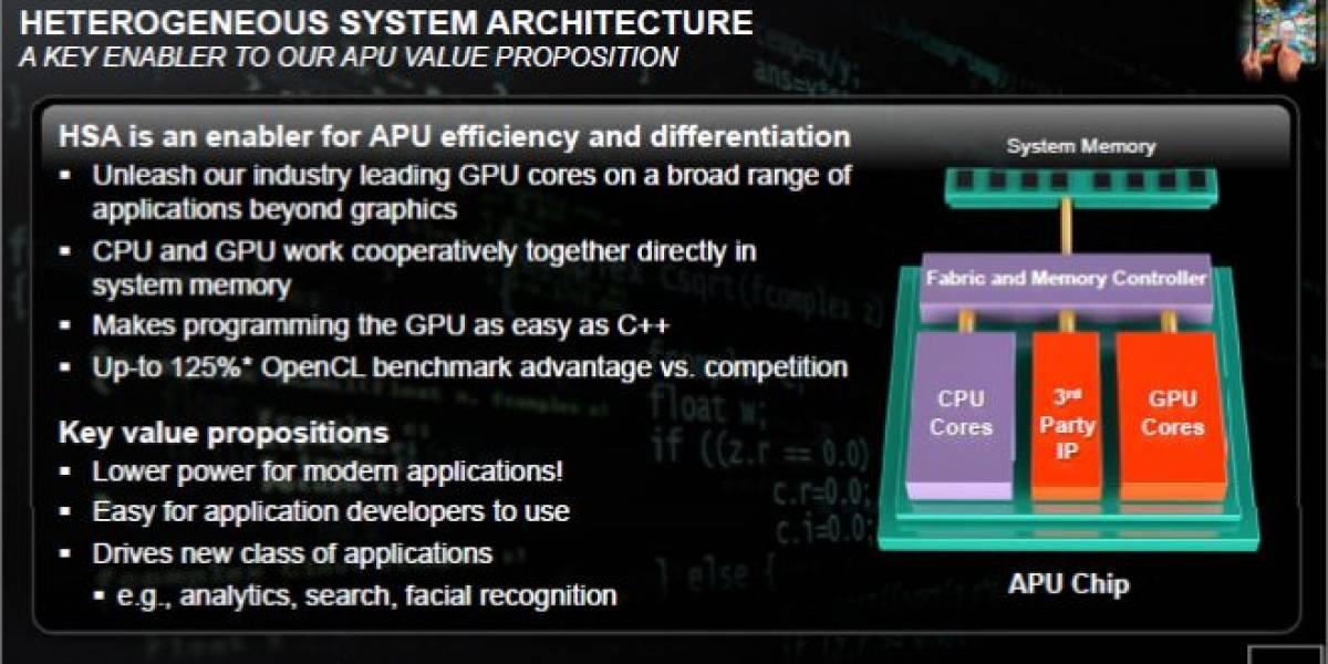 AMD estrena su nueva división Microprocesadores semi-personalizados