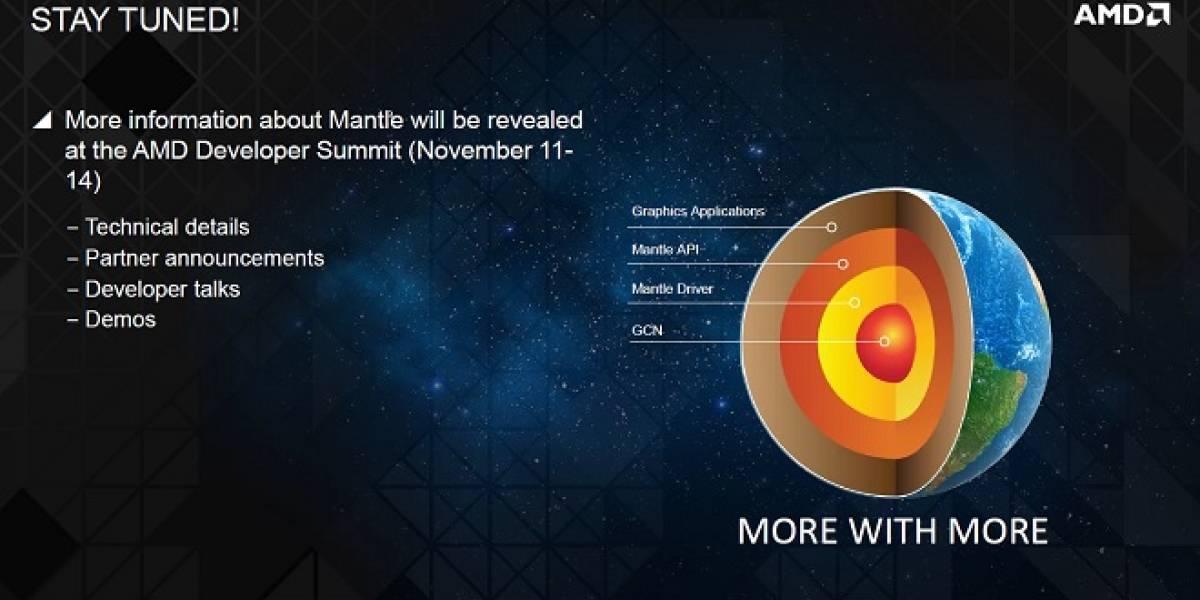 AMD: Mantle es un API que otros fabricantes de GPUs pueden adoptar si lo desean