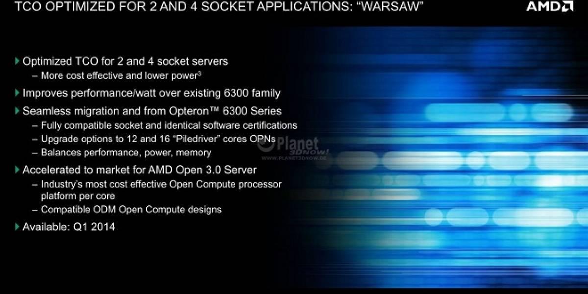 """AMD muestra sus SoC Opteron X Series de segunda generación """"Berlin"""""""