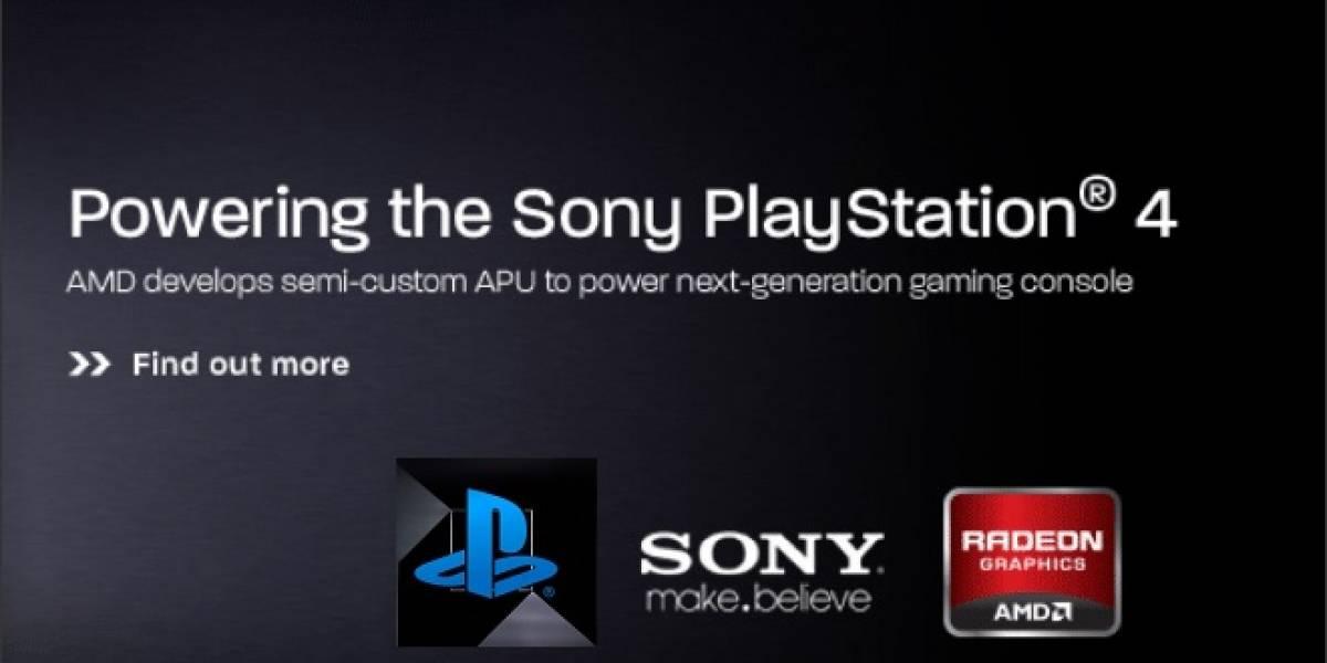 AMD lanzará una versión recortada del APU de la consola Sony PlayStation 4