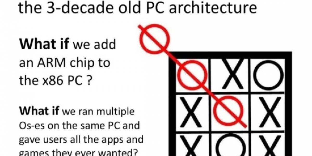 ¿AMD planea un APU híbrido x86-ARM?