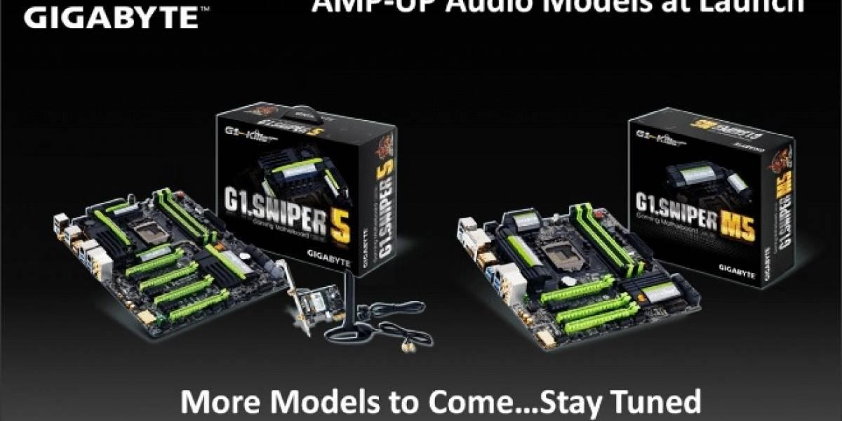 Gigabyte anuncia su nueva tecnología AMP-UP Audio