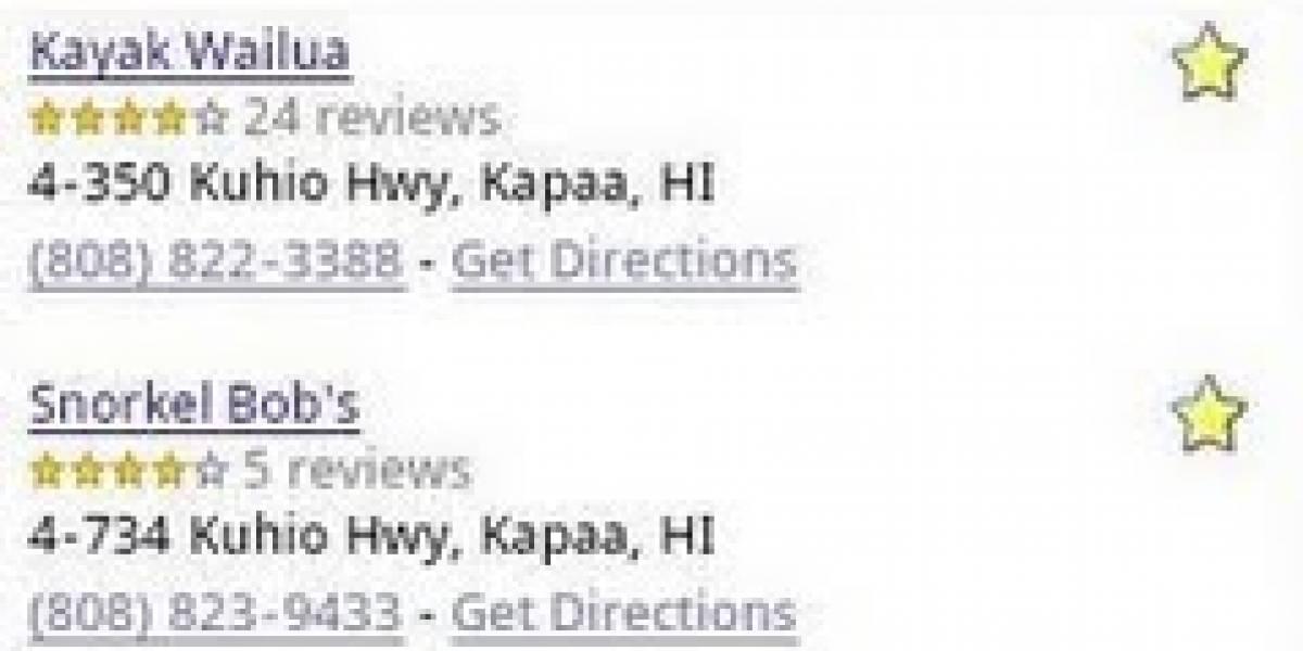 Google mejora las búsquedas locales