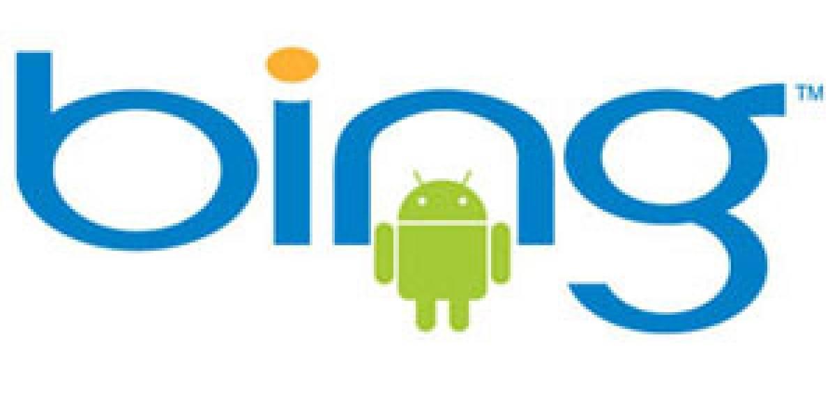 Bing aterrizará dentro de poco tiempo en Android