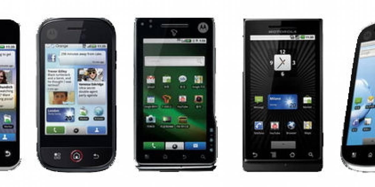 Motorola lanzará entre 20 y 30 nuevos androides este año
