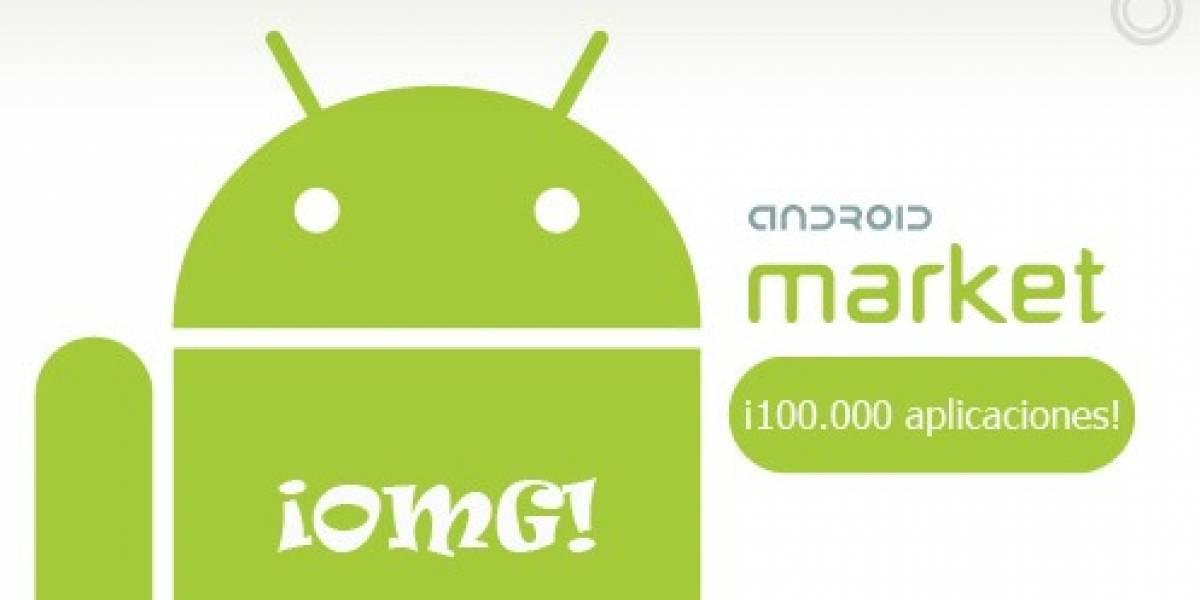 Android Market alcanzará las 100.000 aplicaciones a fines de Julio
