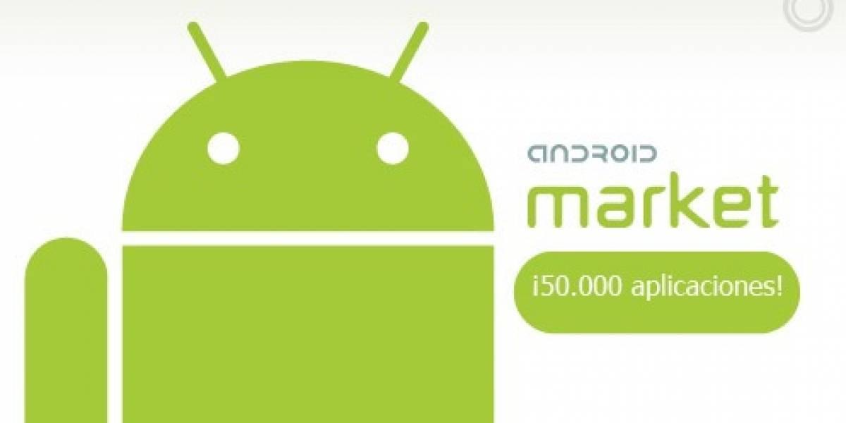 Nuevo logro de Android Market: 50.000 aplicaciones