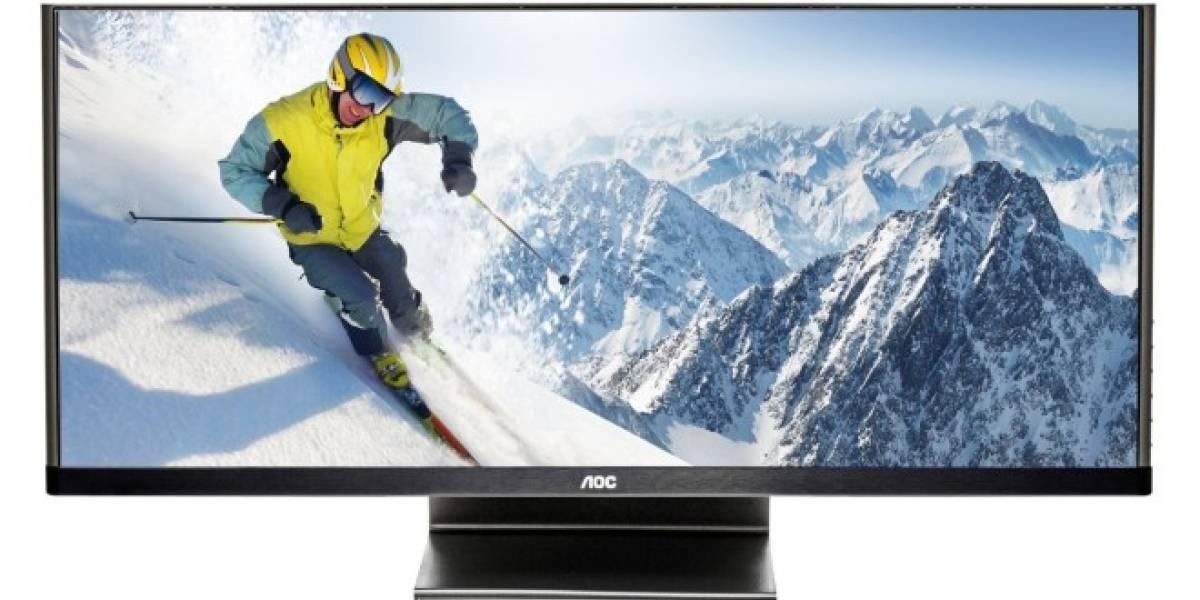 AOC presenta su nuevo monitor ultra ancho de 29 pulgadas