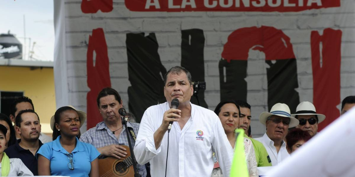 Rafael Correa: El Gobierno de Lenín Moreno ha incentivado esta violencia