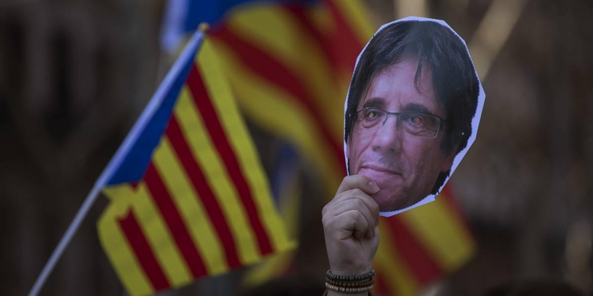 Puigdemont duda de la Independencia de Cataluña, pero no desistirá