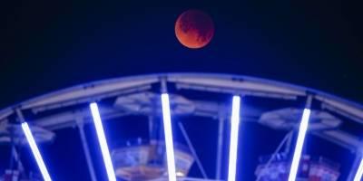 Super Luna de Sangre Azul