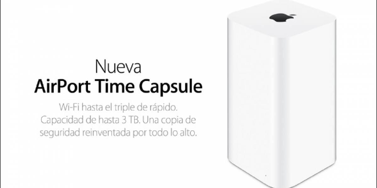 Tasa de fallos de Apple AirPort Time Capsule duplica a la de los discos duros externos