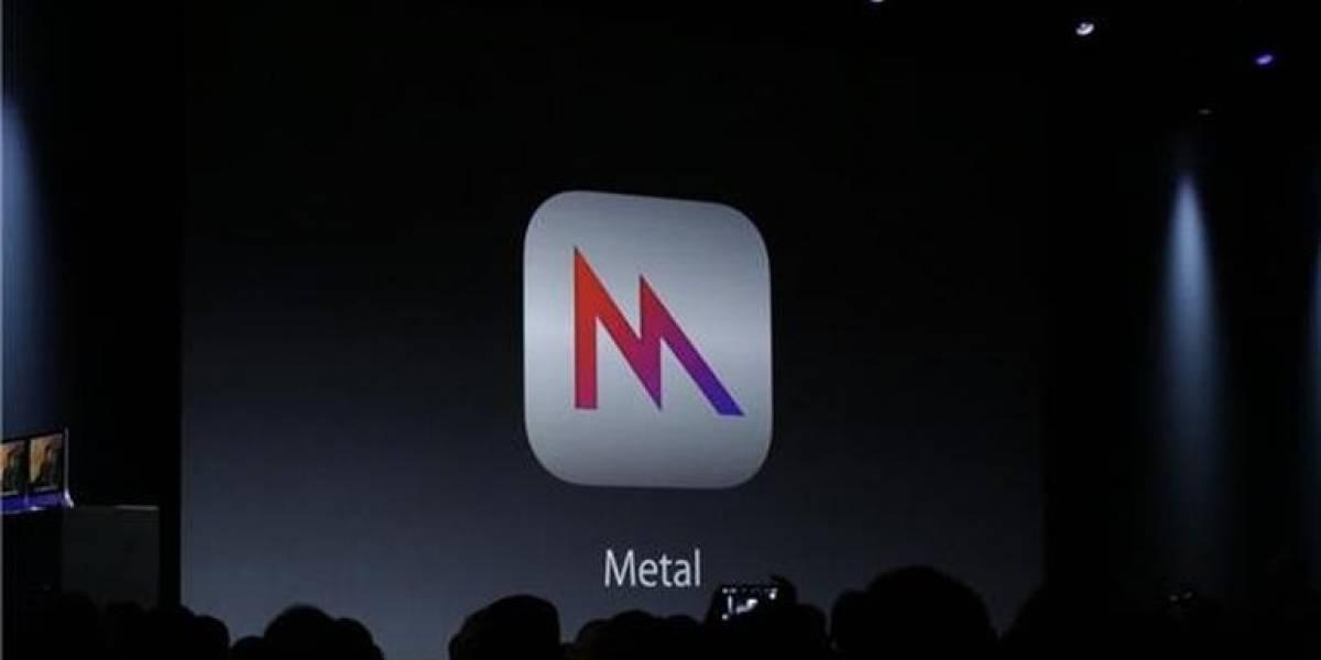 Apple Metal: El nuevo API gráfico de bajo nivel de Apple