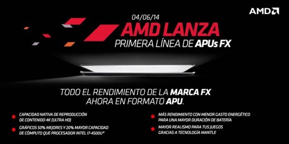 "AMD lanza sus APUs FX/A PRO/A-7000 Series ""Kaveri-SV/LV/ULV"""