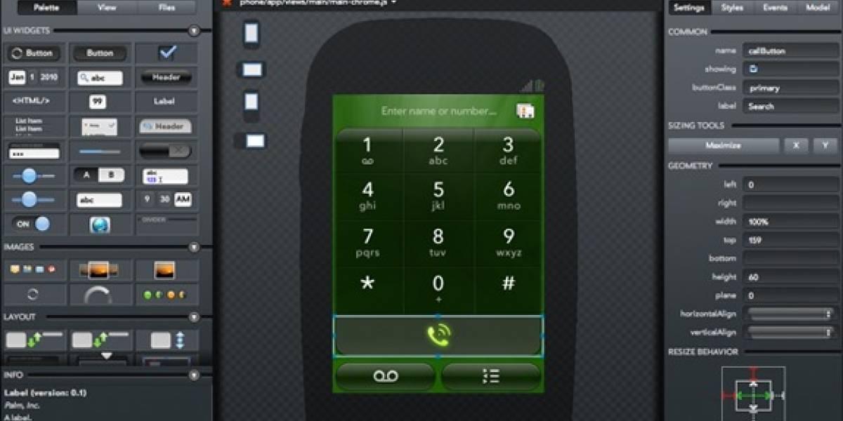 Project Ares: Palm presenta herramienta para desarrollo de aplicaciones WebOS