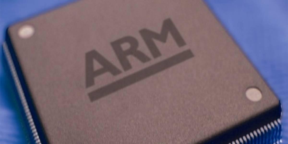 ARM distribuyó más de 150 millones de su chip gráfico Mali solo en 2012