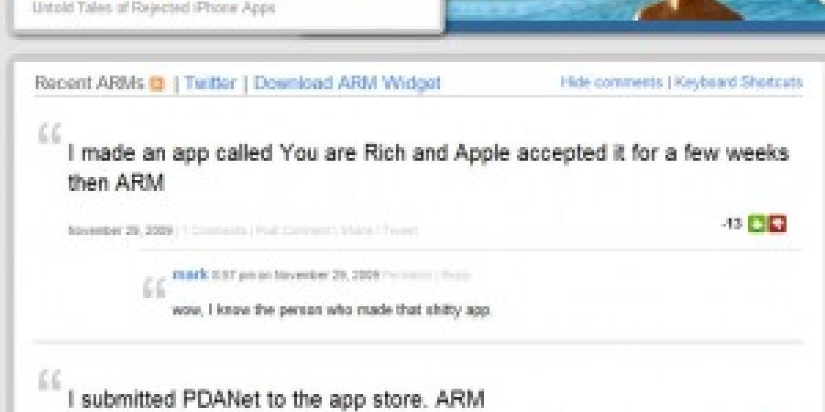 Desarrolladores rechazados por Apple crean su propio sitio web